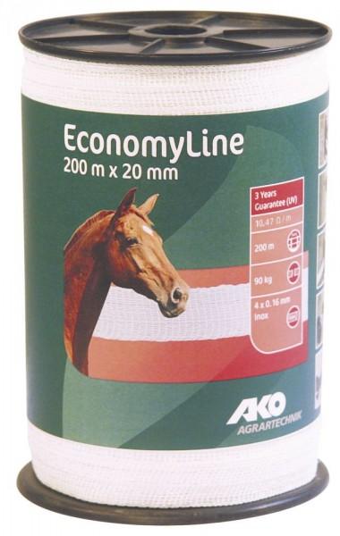 AKO EconomyLine Weideband 200m x 20 mm