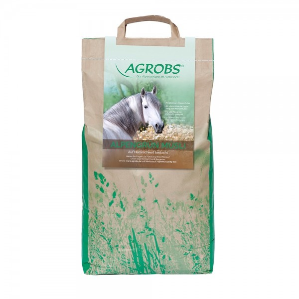 Agrobs AlpenGrün Müsli 4kg Nachfüllbeutel