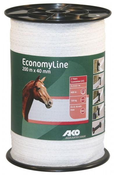 AKO EconomyLine Weideband 200m x 40 mm