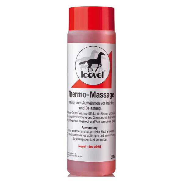 Leovet Thermo Massage Gel