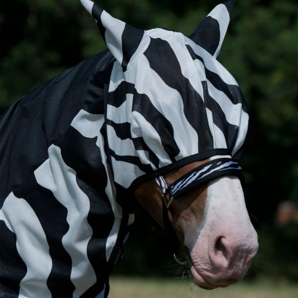 Bucas Buzz Off Fliegen Maske Zebra