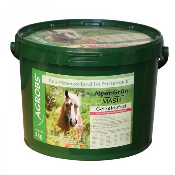 Agrobs Alpengrün Mash 5kg Eimer