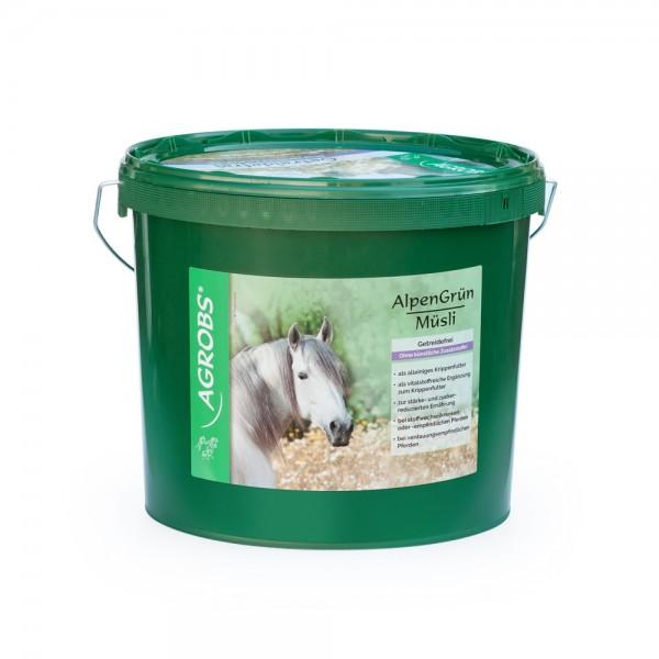 Agrobs Alpengrün Müsli 4kg Eimer
